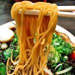 中華そばマルキ商店 - ストレート、細麺