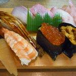 寿し富 - 料理写真:上にぎり寿司