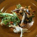 テオドーラ - 自家製アンチョビのサラダ
