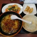 中華食堂 味鮮 - 今日の日替わりランチ@700