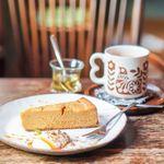 キトカフェ - キャラメルチーズケーキ、チャイ