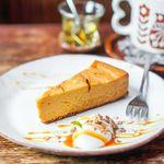 キトカフェ - キャラメルチーズケーキ