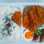 栄屋肉店 - とんかつ弁当@\530