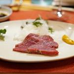 西洋料理 島 - 牛刺し
