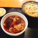 元祖 熊谷うどん 福福 - 辛肉汁うどん 並盛 800円