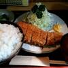とんかつ 天寿々 - 料理写真:ランチの『とんかつ定食750円』ライス大盛りプラス100円!