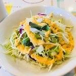ビンディカ - セットのサラダ