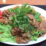 長田本庄軒 - 料理写真:焼肉カルビ焼きそば