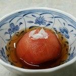 伊勢屋食堂 - トマトの酢漬けもGOOD!