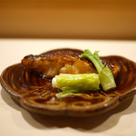 鮨 あらい - のどぐろ焼き 黒七味