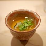 鮨 あらい - 鼈出汁の茶碗蒸し
