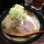 麺処 花田 - 池袋で味噌ラーメンといえば、やっぱりこれですね('18/03/03)
