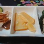 zuien - 前菜3種