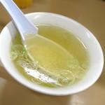 月見軒 - スープ