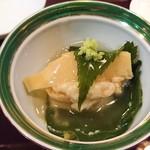 和菜 蔵 - 筍としんじょう、白身魚とろみ餡