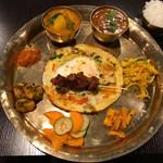 NEPALI CUISINE HUNGRY EYE Dine & Bar - ネパールチャタモリセット