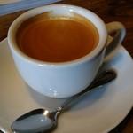 カフェ サルーテ - 食後のホットコーヒー