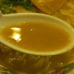 天下一品 - こってりラーメンのスープ