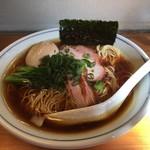モヒカンらーめん - 料理写真:醤油+味玉