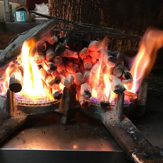 【備長炭使用】炭火の香ばしさがクセになる!限定串はお早めに!