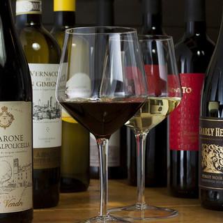 馬肉に合う厳選したワイン/季節の日本酒