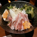 Ryoutei - 豚肉と野菜の小鍋【2018.2】