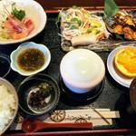 浜舟 - 浜舟定食1000円(税込み)
