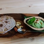 ツリーフロッグギャラリーカフェ - 料理写真:好みのプレートセット 600円