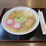 あけぼの食堂 - 料理写真:塩ラーメン(600円)