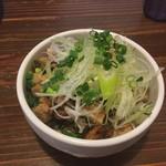 麺処 鳴声 - チャーシュー丼