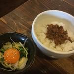 麺処 鳴声 - 鳴飯