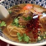 中国蘭州牛肉拉麺 王記 - 牛肉ラーメン