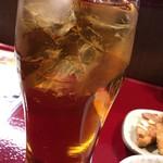 中国蘭州牛肉拉麺 王記 - ウーロンハイ