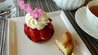 ラ・メゾン ド ジュン - 苺のタルトケーキ 450円