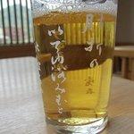 寿屋 - ビール グラスに唄が書かれてる★