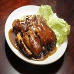 翠鳳 - 【牡蠣油味噌入り鶏の蒸し煮】\2000(外税)