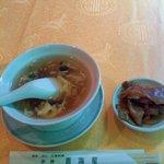 Chinhaishin - スープとザーサイ