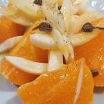 81860220 - 甘平オレンジとウイキョウのサラダ
