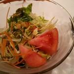 風靡 - 特製カレーランチのサラダ♪