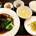 81861386 - 肉団子の醬油煮込みセット:950円