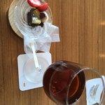 美先 - 甘味と黒烏龍茶