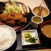 Tontontei - 料理写真:ヒレ・メンチかつ定食。