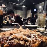 たけのこ - 豚玉モダン焼