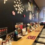 東京担々麺 RAINBOW - カウンター席✧*。