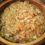 81863132 - 茄子とひき肉の土鍋ご飯