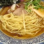 麺や金座 - 細麺の細さ