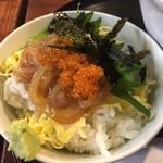 炉端かば - ミニイカ丼