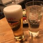 イタリアンリゾート個室 Ananas TOKYO - イタリアンリゾート個室 Ananas TOKYO(アナナス)(東京都新宿区歌舞伎町)生ビールとハイボール