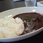 N CAFE - こだわりのビーフカレー ¥600