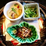 Kagurazakamaeda - 前菜: 旬菜盛り合わせ